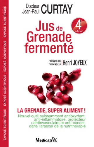 Jus de Grenade Fermenté (EQUILIBRE)