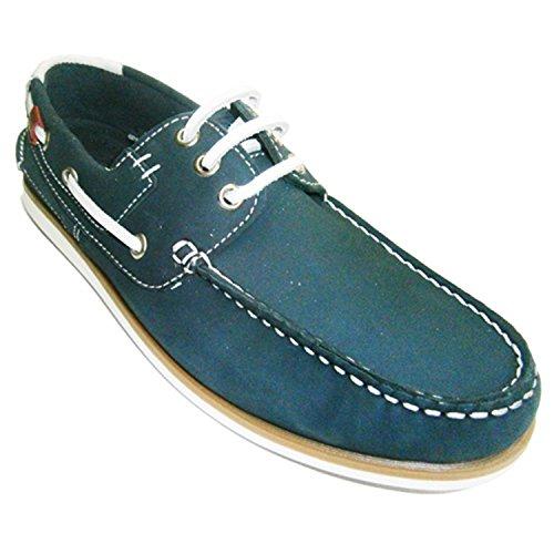 Naútico Cordones Suela Fina Gioseppo en Azul Marino Talla 44