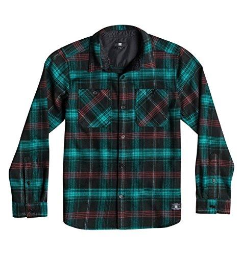 DC Shoes™ Vibration - Long Sleeve Flannel Shirt - Chemise - Enfant - Noir