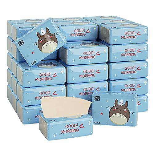 Servilletas de papel higiénico ecológicas 28 paquetes de pañuelos de papel panda