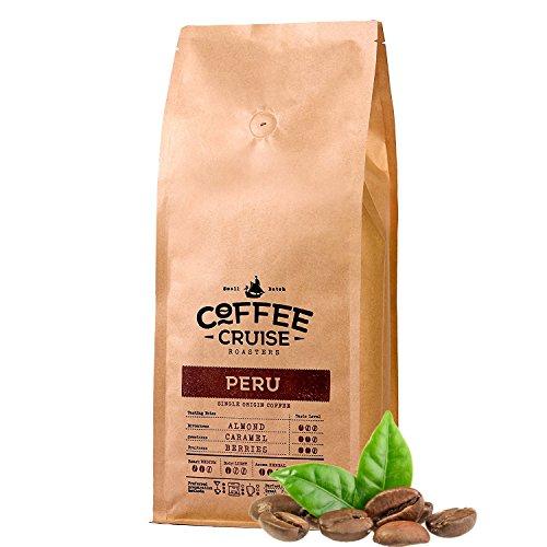 COFFEE CRUISE © Single Herkunft Kaffeebohnen - Peru - 1 kg- 100% Arabica Beans