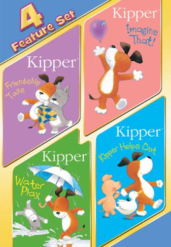 Kipper Collection (Friendship Tails / Imagine That! / Water Play / Kipper Helps Out)