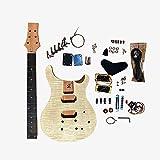 Coban Guitars PR844B - Kit para guitarra eléctrica (arce, cromo)