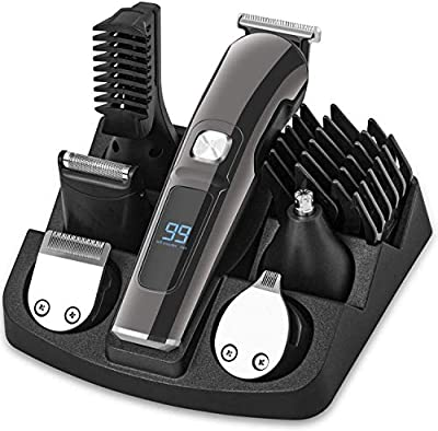 Beard Trimmer 11-in-1 Hair Clippers Men Nose Trimmer Hair Trimmer Body Trimmer Facial Trimmers for Men, Waterproof Electric Clippers for Men