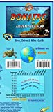 Bonaire Adventure Map Dive Drive & Bike Guide Franko Maps Waterproof Map