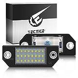 TECTICO LED Kennzeichenbeleuchtung 6000K Xenon...