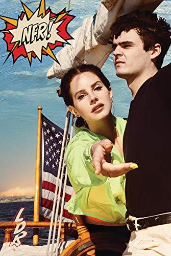 Lana Del Rey - Norman F Rockwell Album Cover Poster 24x36 inches Nebraska