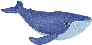 "Wild Republic Blue Whale, Stuffed Animal, Plush Toy, Gifts for Kids, Cuddlekins, 20"", Multi (21457)"