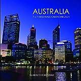 Australia 7 x 7 Mini Wall Calendar 2021: 16 Month Calendar