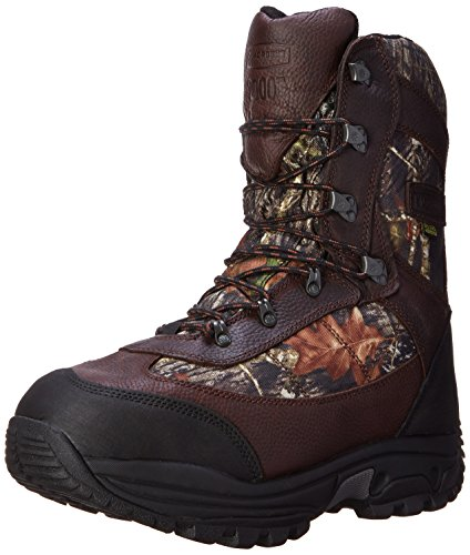 "LaCrosse Men's 283160 Hunt Pac Extreme 10"" Waterproof 2000G Hunting Boot, Mossy Oak Break-Up - 8 M"