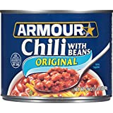 Armour Star Chili With Beans, 24 oz. (Pack of 12)