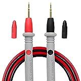 Micsoa Multimeter Test Leads Banana Plug, Digital Multimeter Probes Electrical Test Probe 20A 1000V