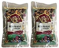 無添加 オーガニック フルーツ&ナッツミックス 120g×2個 ★ ネコポス ★米国産のドライフルーツ&ナッツをミックス使用。一袋で様々なミネラルが摂れる優れものです。有機JAS
