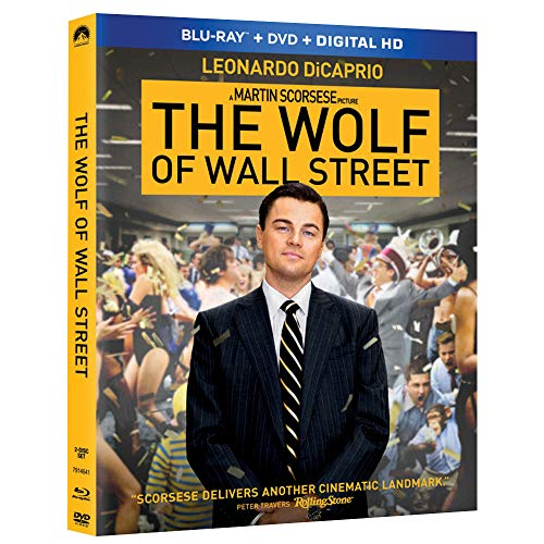 The Wolf of Wall Street (Blu-ray + DVD + Digital HD) - $4.99