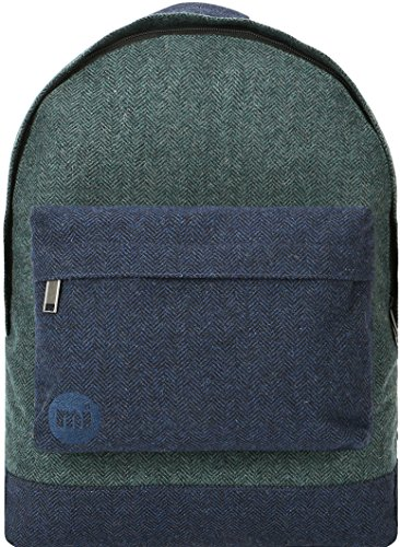 Mi-Pac Premium Backpack Mochila Tipo Casual, 41 cm, 17 Litros, Herring Gr/Nav