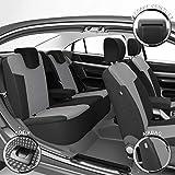 DBS 1012780 Housse de siège Auto / Voiture - Sur Mesure - Finition Haut de Gamme - Montage Rapide - Compatible Airbag - Isofix