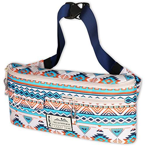 KAVU Kiyo Carryall Crossbody Belt Bag Hip Fanny Pack-Horizon Range