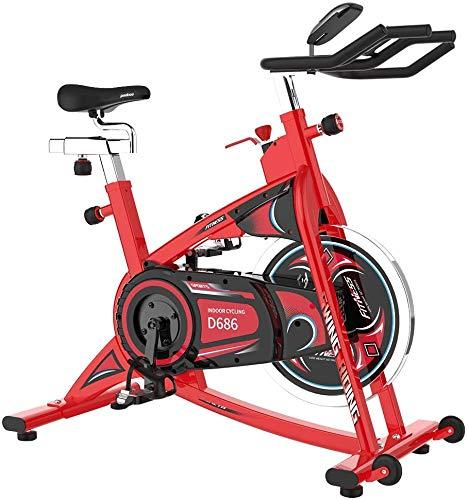 pooboo Exercise Bikes Stationary Bike Belt Drive...