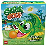 Gator Golf – Putt The Ball Into The Gator's Mouth to Score Game – Includes A Fun Colorful 24pc Puzzle