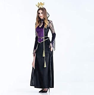 ea7ceda771 Amazon.it: Costume Halloween Donna Vampira Gotico - Travestimento ...