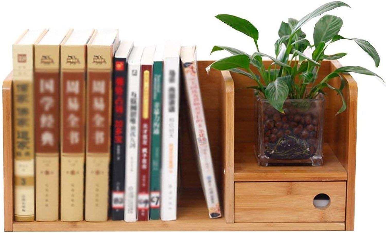 Seleccione de las marcas más nuevas como ZHAS ZHAS ZHAS Estantería de Libros Estantería Pequeña con cajón Bambú Escritorio Escritorio Simple Una Variedad (Color  Color primario 68  19  46cm)  envío gratuito a nivel mundial