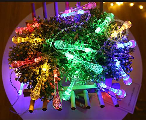 LED-knipperlichten sieren het festivalstersnoer