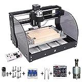 MYSWEETY CNC 3018Pro-M Engraver Machine Kit, GRBL Control 3...