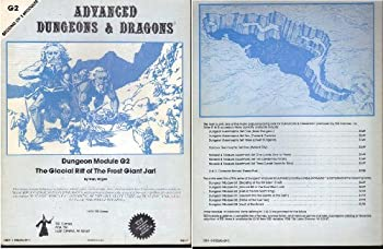 G2 The Glacial Rift of the Frost Giant Jarl - Book  of the Advanced Dungeons and Dragons Module #C4
