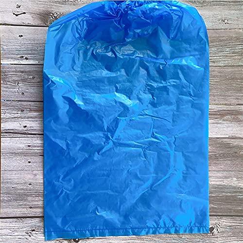 WYZXR Couvre-Chaussures jetables imperméables, imperméables à la Pluie et à la poussière Paquet de 50 Paires Épaississez Les Couvre-Chaussures de commodité pour Le ménage et Les protecteurs Ble