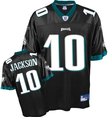 DeSean Jackson Jersey: Reebok Black Replica #10 ... - Amazon.com
