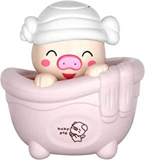YHomU Cute Creative Cartoon Baby Bath Toy Funny Interactive Pig Design Floating Infant Bathtub Toy Baby Water Toy