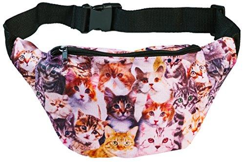 Funny Guy Mugs Kittens Fanny Pack