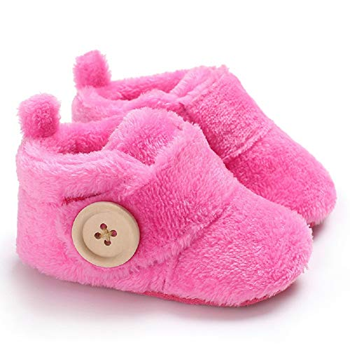 Dearfoams Unisex Lil Slipper, Baby Bear Tartan Plaid, 9 Months-12 Months Infant