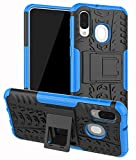 Yiakeng Samsung Galaxy A40 Case, Double Layer Shockproof