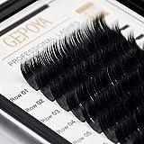 Eyelash Extensions Premium Silk Mink Lash 0.15...
