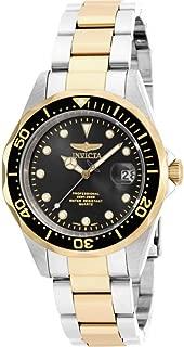 Best invicta pro diver quartz two-tone 18k gold watch Reviews