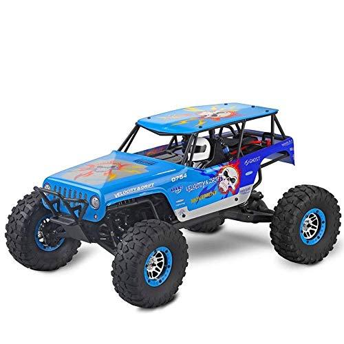 1/10 a gran escala de alta velocidad a la deriva fuera de la carretera de carreras de coches, Bigfoot Monster Truck 2.4GRC, 2.4G de carga USB RC Buggy for adultos, cumpleaños del niño de control remot