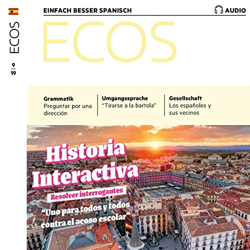 Ecos Audio - Historia interactiva: Resolver interrogantes. 9/2019 cover art