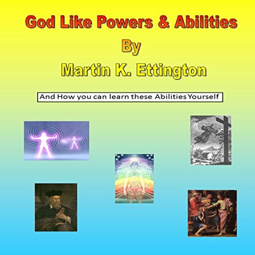 God Like Powers & Abilities audiobook cover art