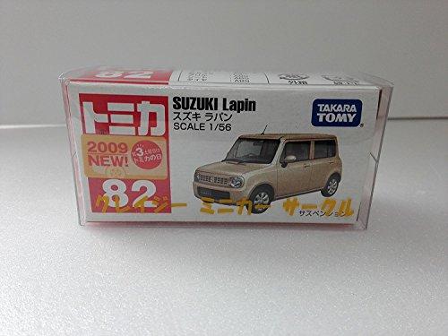 絶版トミカ ��82 スズキ ラパン 2009 新車シール クレイジーミニカーサークル ケース付 アマゾン倉庫発送