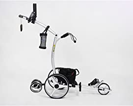 Bat-Caddy X4R Remote Control Golf Cart/Trolley w/ Deluxe Accessory Kit & Mountain Slayer Anti-Tip Bar from In The Hole Golf