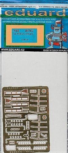 punto de venta EDU48782 1 48 Eduard PE - Me Me Me 410B-2 U-4 Engine Detail Set (for the Meng model kit) MODEL KIT ACCESSORY by Eduard  bajo precio