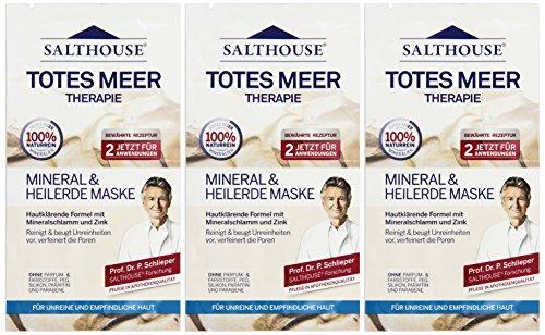 Murnauer Salthouse Totes Meer Maske Mineral und Heilerde, 2x7ml, 2er Pack (2 x 14 ml)