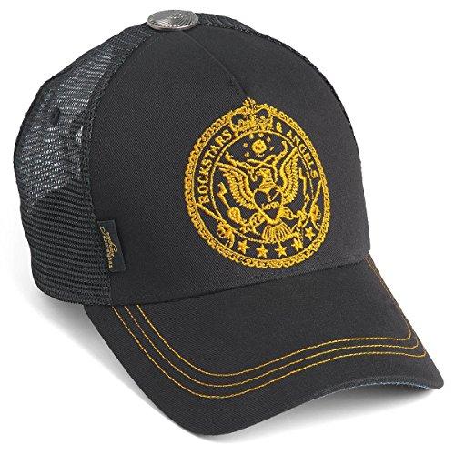 Rockstars & Angels Unisex Cap Crest Black