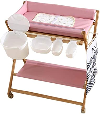 LHSUNTA Changing Table Baby Diaper Changing Station with Storage Box Suitable for Infant Newborn Nursery