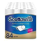 Scottonelle Carta Igienica Soffice e Trapuntata, Confezione da 84 Rotoli