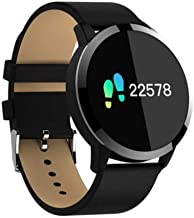 Godealnet Diggro Q8 OLED Bluetooth Fitness Smart Watch (Natural Black/United States)