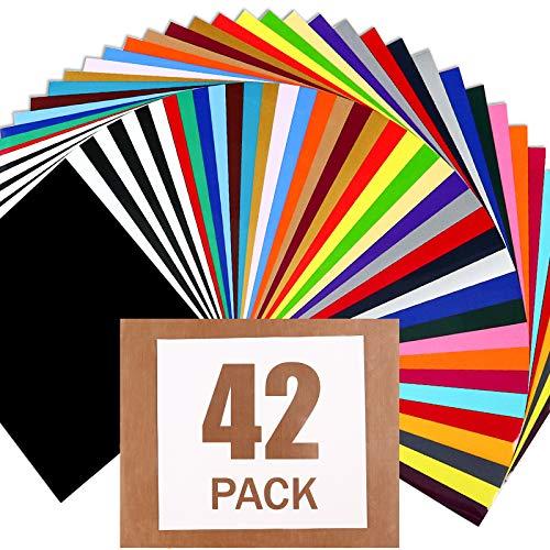 HTV Heat Transfer Vinyl Bundle : 42 Pack