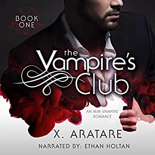 The Vampire's Club: An M/M Vampire Romance (Book 1) Titelbild