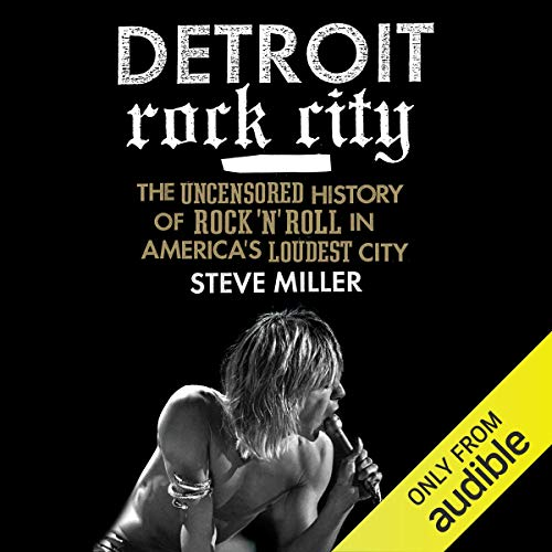 Detroit Rock City audiobook cover art